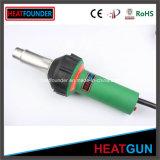Portátil de 1600W plástico caliente Pistola de soldadura 650c para el PVC PE PP