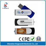 試供品の高品質1/2/4/8GBの金属の旋回装置USB
