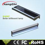 Affichage LED de lumière solaire intégré signe extérieur de l'éclairage