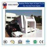 Gooseneck van China 120t de Afneembare Lage Semi Aanhangwagen van het Bed
