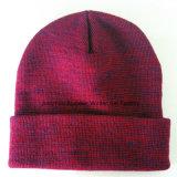 最小順序量、刺繍された編まれた帽子の帽子を受け入れなさい