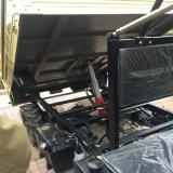 2 Landbouwbedrijf UTV van de Stuurbekrachtiging van de Kipper van de Aandrijving van het wiel het Hydraulische