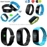 Pulsera Bluetooth Smart impermeable con Monitor de ritmo cardíaco (V7).