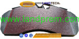 Une partie de la céramique Landtech chariot la plaquette de frein AAC 29202/29087/29278/29108