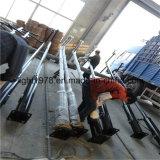 Por inmersión en caliente de tuberías de acero galvanizado para el alumbrado público con energía solar