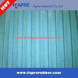 Coureurs de plancher/nattes en caoutchouc durables/nattes en caoutchouc large nervure/feuille en caoutchouc résistante au feu