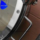 Hygienischer runder Druckbehälter Manway Deckel mit Anblick-Glas-Ansicht