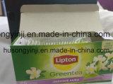 Scatola di il tè, contenitore di alimento che incolla macchina