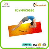 De kleur Afgedrukte Mat van de Sporten van de Yoga van het Ontwerp, Wasbare Machine