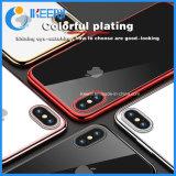 2018년 Samsung 이동 전화 부속품은 iPhone를 위한 TPU 셀룰라 전화 상자를 도금했다