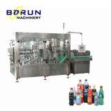 Máquina de relleno y que capsula de la bebida automática de la soda
