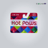 Cartão em forma de plástico de PVC personalizado