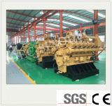 Planta de energía de biogás Setwith generador de la ISO (45kw).