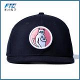 2018 chapeaux plats de Snapback de bord de broderie faite sur commande de mode