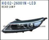 KIA Sportage 2014년을%s 자동차 부속 차 헤드 램프 LED 램프 적합. 직접 공장