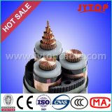 中型の電圧ケーブル15kvケーブル3X185mmの工場