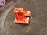 Una sola línea Clamshell hidráulicas de control remoto de la cuchara Grab