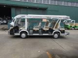 Un bus elettrico delle 14 sedi, bus di spola, automobile di Electri, bus facente un giro turistico, bus turistico a pile