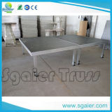 Bewegliches Stage mit Wheels Movable Stage für Sale From China Sgaier Stage