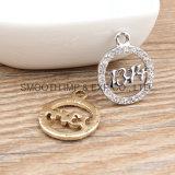 方法ラインストーンのペンダントの真珠金によってめっきされるDIYのアクセサリのブレスレットのネックレス