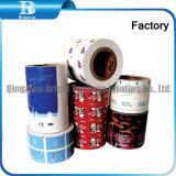 Les emballages en plastique du rouleau de film, lingettes humides Film d'emballage