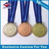 Antigüedades personalizada Scrool personalizada Medalla Medalla deportiva
