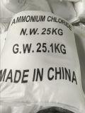 De Rang van Technologie van het Chloride van het ammonium 99.5% Min