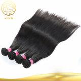 安くまっすぐなバージンのRemyの人間のブラジルの毛は編む