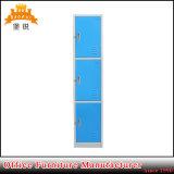 Шкаф локера двери изменяя комнаты 3 спортов гимнастики йоги стальной