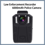 Registratore di applicazione di legge, macchina fotografica della polizia 6000mAh, macchina fotografica della radio del corpo di macchina fotografica di Notte-Visione