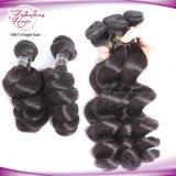 卸し売り人間の毛髪の緩い波のカンボジアのバージンの毛