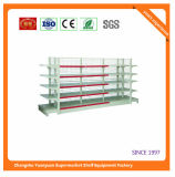 Metallkosmetisches Rückplatten-Supermarkt-Regal 07302