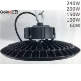 Diodo emissor de luz industrial Highbay 150W claro 100W do preço 200W 240W dos lúmens elevados da eficiência elevada bom