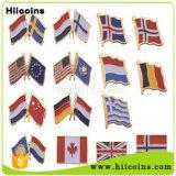 Китай оптовые количества&письмо петличный штифты флаг Булавка
