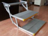 Es-F-d Aluminum Electric Double Folding Step mit CER Certificate Can Load 150kg