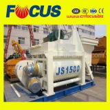 O Ce, ISO certificou o misturador concreto do eixo Js1500 gêmeo