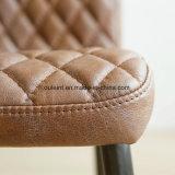 Ноги металла PU обедая стул (OL17203)