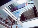 el panel fresco del exterior del aluminio del azul PVDF del precio de fábrica de 1500*5000m m