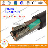 H07rnf H05rnf H07rrf H07rrf Kabel-flexibles kupfernes Leiter-Parallelwiderstand-Isolierungs-CPE umhülltes Kabel mit Cer-Bescheinigung