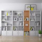 Bibliothèque en bois de combinaison libre personnalisable de meubles de bureau et de pièce d'étude