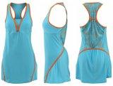 Healongの最新のデザイン特別で完全な昇華テニス服の摩耗