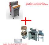 Электрическая сверхмощная машина пунша и двойная машина провода Binding (SUPER450&DCA-520)