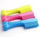 De tandenborstel van het Speelgoed van de Tand van de Hond Rubber