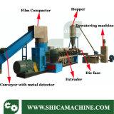 500-600кг/ч отходов HDPE LDPE хлопья экструдер для утилизации отходов пластика
