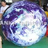 Luna gonfiabile gigante del globo della terra dell'aerostato del PVC dell'elio