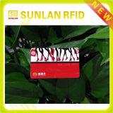 Cartão magnético personalizado da impressão do cartão do PVC da cor cheia