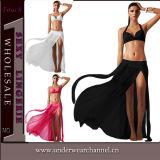 Reizvolle neue Entwurfs-Form-Frauenspitzenbeachwear-Oberseite (TKYA753)