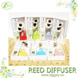 HauptFragrance Air Fresher Reed Diffuser Stick mit Flower