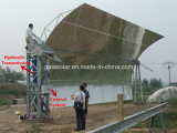 太陽たらいのコレクターの農産物の蒸気の太陽熱プラントCsp