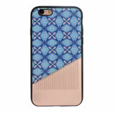Caixa do telefone móvel da pasta TPU do plutônio para iPhone-Azul